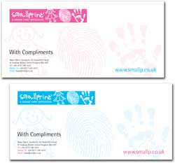 Smallprint: Compliment Slips